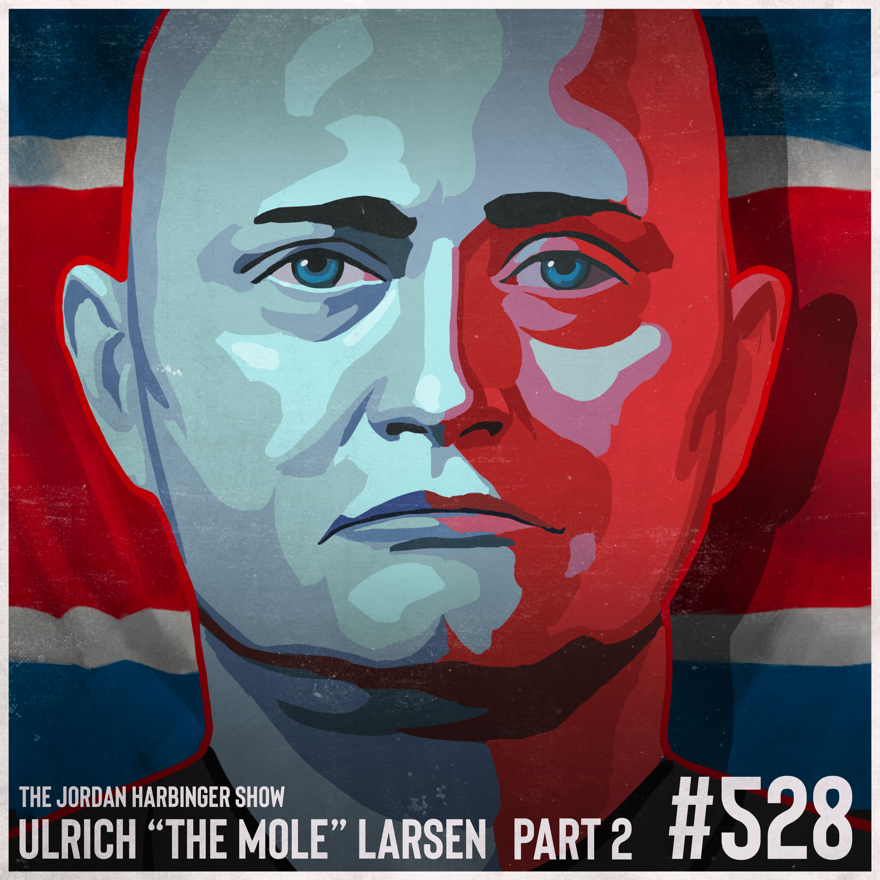 """528: Ulrich """"The Mole"""" Larsen   Undercover in North Korea Part Two"""