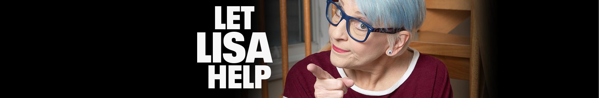 Let Lisa Help with Lisa Lampanelli