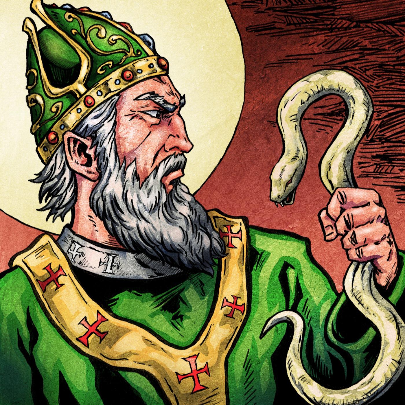 Episode #128- Did St. Patrick Kill a Wizard?