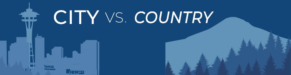 City vs. Country