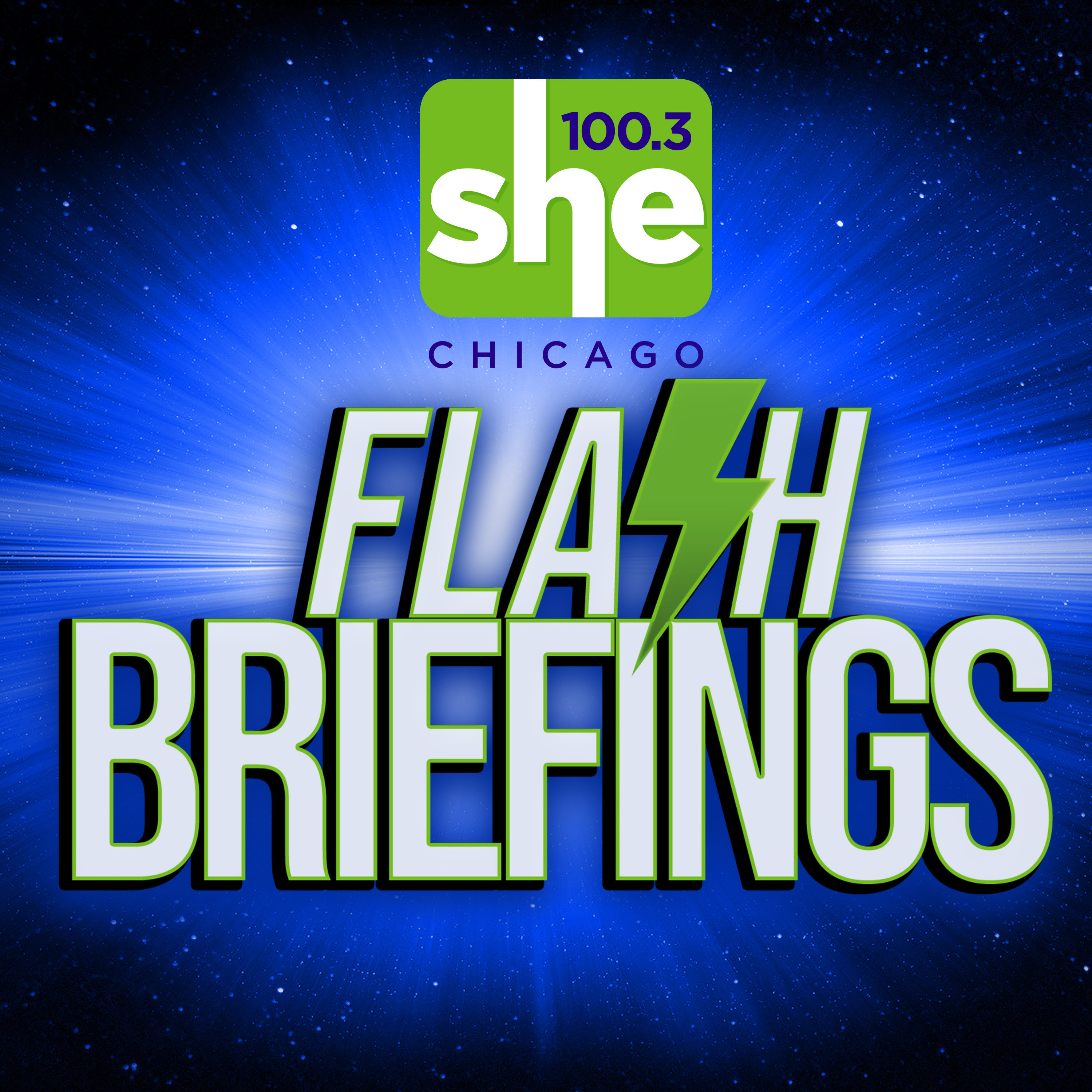 SHE 100.3 Flash Briefing