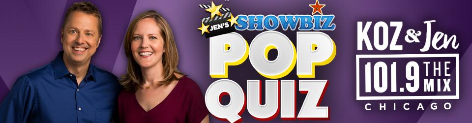 Jen's Showbiz Pop Quiz